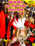 "MARDI GRAS BAND from BAZZINI'S ""THE ROUND OF THE GOBLINS"" NEW GREAT KAT MUSIC VIDEO!"