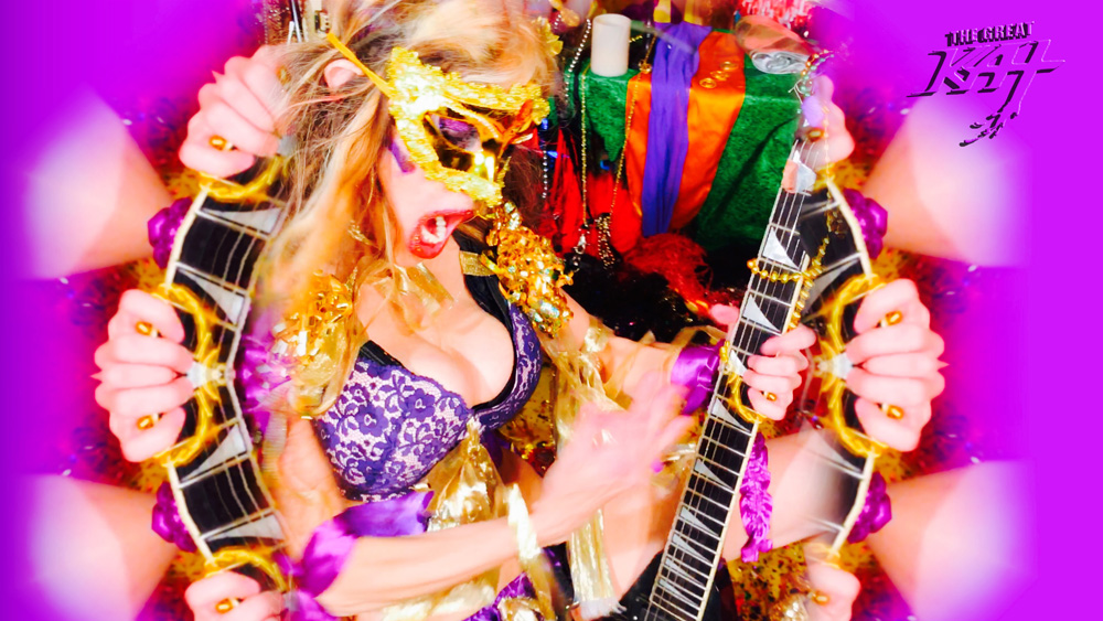 """SHRED GODDESS! From THE GREAT KAT'S BAZZINI'S """"THE ROUND OF THE GOBLINS"""" MUSIC VIDEO!!!"""