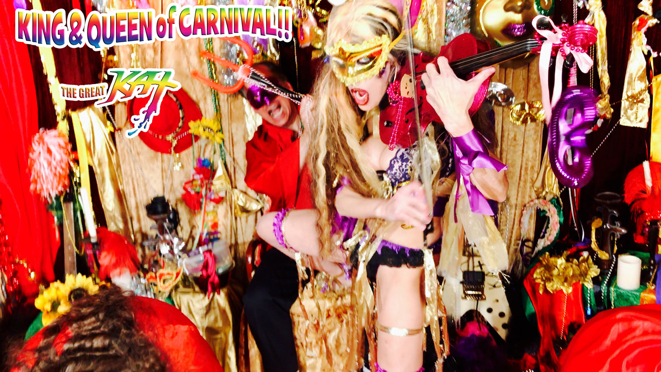 """KING & QUEEN of CARNIVAL!! from BAZZINI'S """"THE ROUND OF THE GOBLINS"""" NEW GREAT KAT MUSIC VIDEO!"""