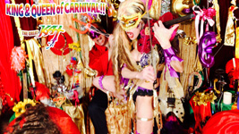 "KING & QUEEN of CARNIVAL!! from BAZZINI'S ""THE ROUND OF THE GOBLINS"" NEW GREAT KAT MUSIC VIDEO!"