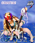 "CARNIVAL! from BAZZINI'S ""THE ROUND OF THE GOBLINS"" NEW GREAT KAT MUSIC VIDEO!"