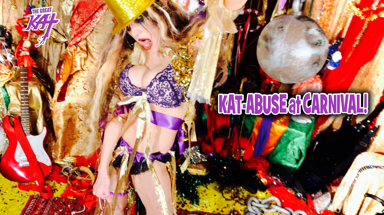 """KAT-ABUSE at CARNIVAL!! from BAZZINI'S """"THE ROUND OF THE GOBLINS"""" NEW GREAT KAT MUSIC VIDEO!"""