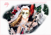 "RUNAWAY BRIDE!! from BAZZINI'S ""THE ROUND OF THE GOBLINS"" NEW GREAT KAT MUSIC VIDEO!"