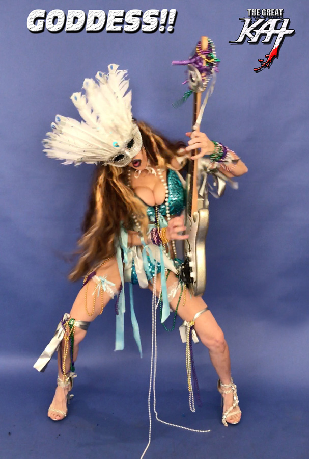 """GODDESS!!! from BAZZINI'S """"THE ROUND OF THE GOBLINS"""" NEW GREAT KAT MUSIC VIDEO!"""
