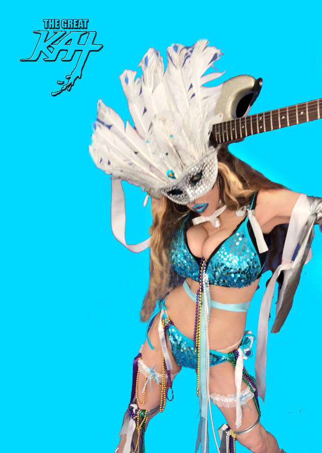 """BOW to your QUEEN of SHRED!! from BAZZINI'S """"THE ROUND OF THE GOBLINS"""" NEW GREAT KAT MUSIC VIDEO! SNEAK PEEK from NEW DVD!"""