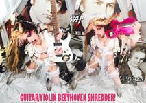 GUITAR/VIOLIN BEETHOVEN SHREDDER! NEW GREAT KAT DVD PHOTO!