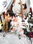 GUITAR BEETHOVEN SHREDDER! NEW GREAT KAT DVD PHOTO!