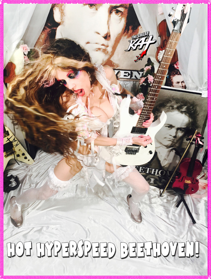 HOT HYPERSPEED BEETHOVEN! NEW GREAT KAT DVD PHOTO!
