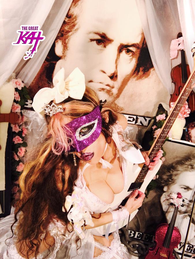 PRINCESS of SHRED! NEW GREAT KAT DVD PHOTO!