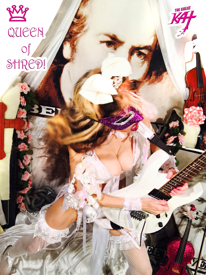QUEEN of SHRED! NEW GREAT KAT DVD PHOTO!