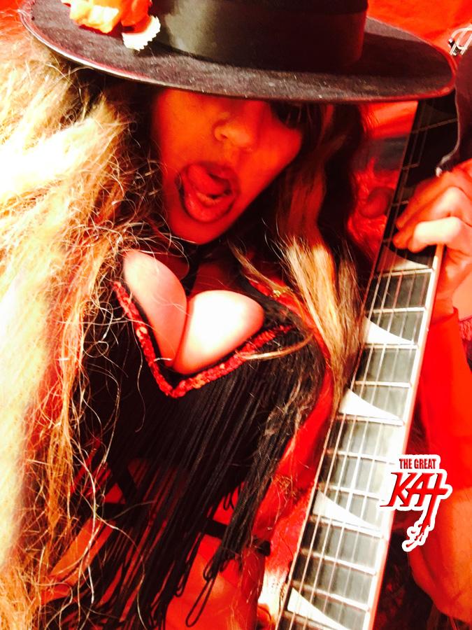"MATADOR of METAL!! From The Great Kat's SARASATE'S ""CARMEN FANTASY"" MUSIC VIDEO!"