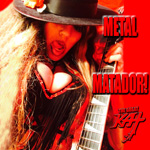 "METAL MATADOR!! From The Great Kat's SARASATE'S ""CARMEN FANTASY"" MUSIC VIDEO!!"