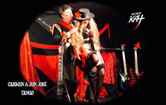 "ARGENTINE #TANGO! From The Great Kat's SARASATE'S ""CARMEN FANTASY"" MUSIC VIDEO!"