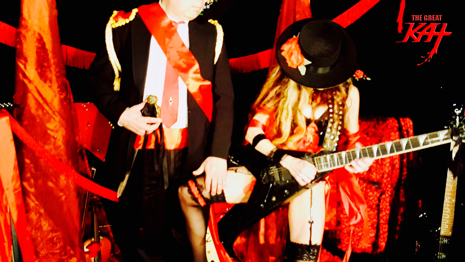 """WORSHIP THE GREAT KAT! From The Great Kat's SARASATE'S """"CARMEN FANTASY"""" MUSIC VIDEO!"""