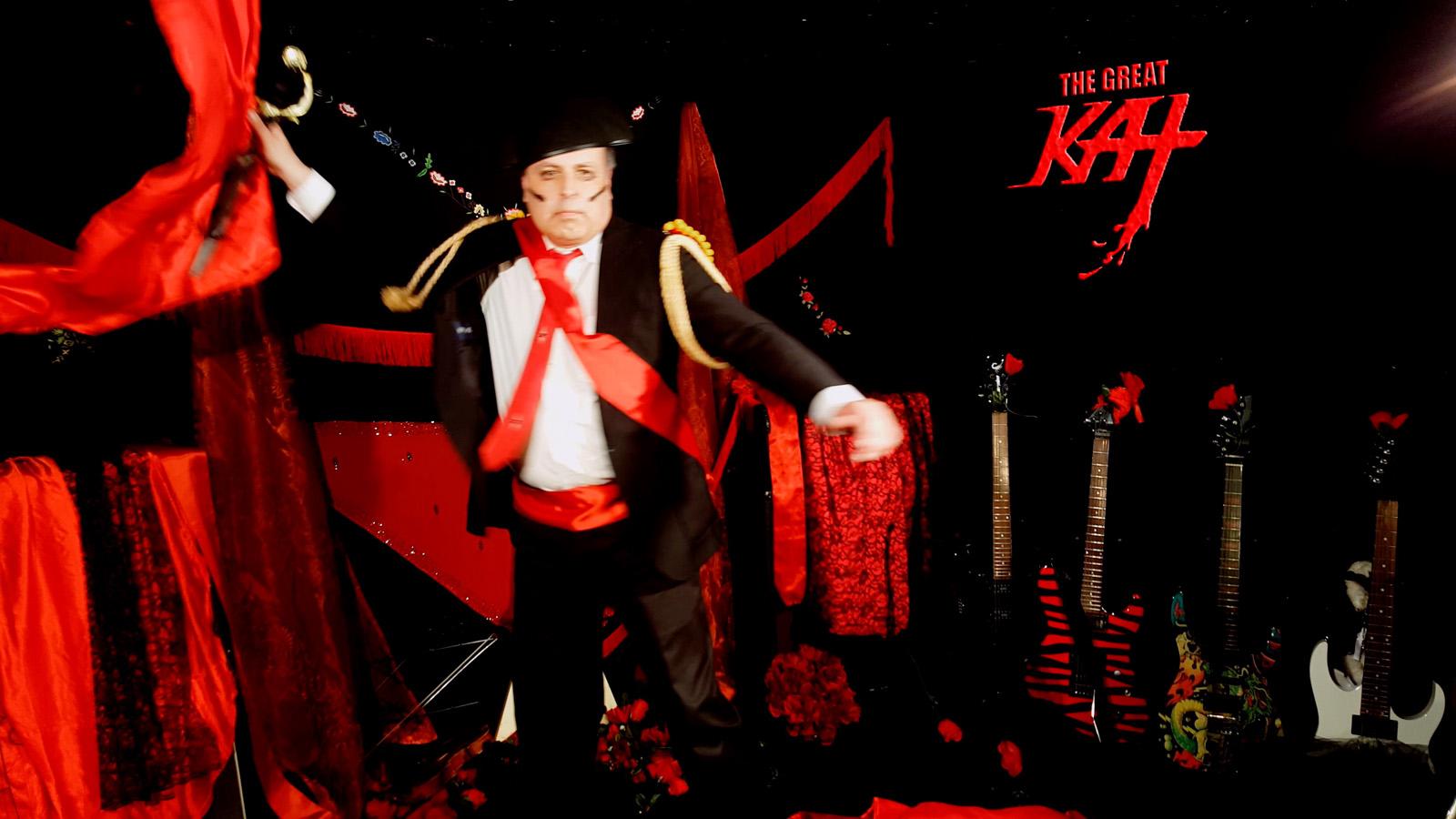 "Don José BULLFIGHTER! From The Great Kat's SARASATE'S ""CARMEN FANTASY"" MUSIC VIDEO!!"