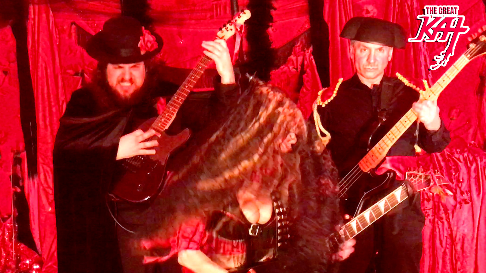 """CARMEN SHREDS with her BAND! The Great Kat's SARASATE'S """"CARMEN FANTASY"""" MUSIC VIDEO!"""