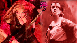 "CARMEN THEN & NOW! The Great Kat's SARASATE'S ""CARMEN FANTASY"" MUSIC VIDEO!"