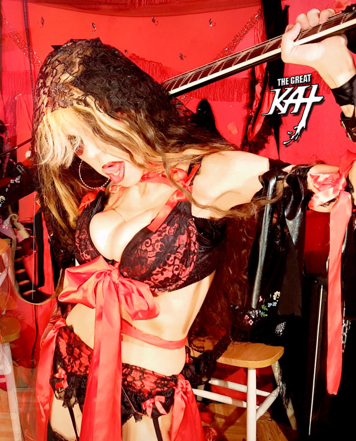 "SEXY CARMEN SHREDS in SEVILLE!! The Great Kat's SARASATE'S ""CARMEN FANTASY"" MUSIC VIDEO!"