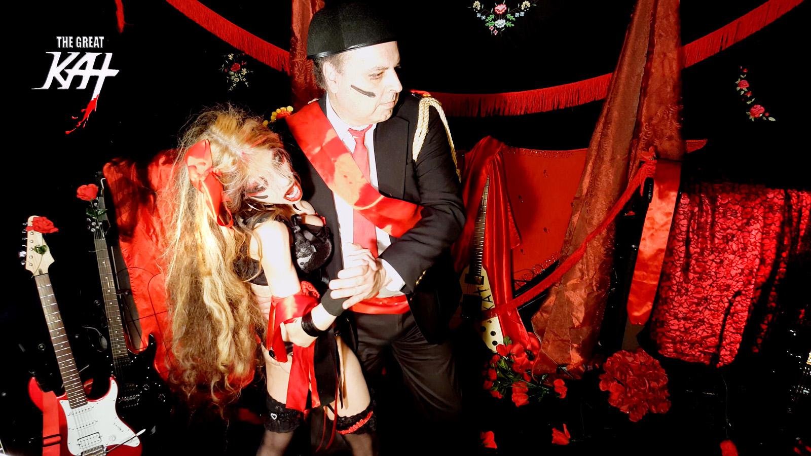 "CARMEN & DON JOSE - The DANCE of SEDUCTION! The Great Kat's SARASATE'S ""CARMEN FANTASY"" MUSIC VIDEO!!"