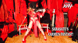 "SARASATE'S CARMEN FANTASY!! From The Great Kat's SARASATE'S ""CARMEN FANTASY"" MUSIC VIDEO!"