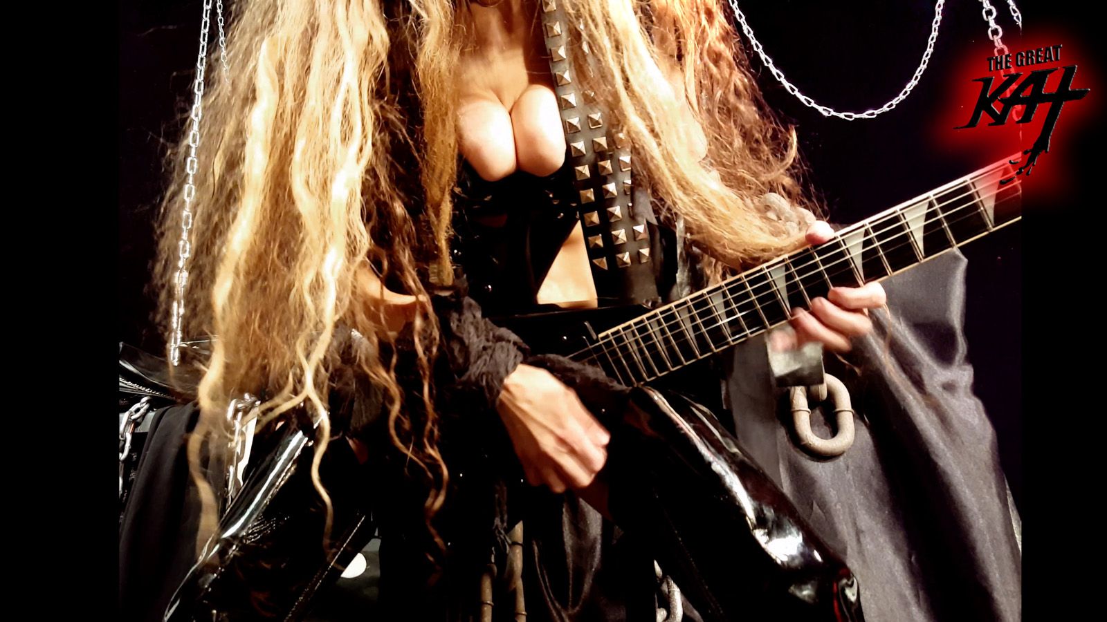 "HEAVY METAL CARMEN! From The Great Kat's SARASATE'S ""CARMEN FANTASY"" MUSIC VIDEO!!"