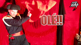 "OLÉ!! From The Great Kat's SARASATE'S ""CARMEN FANTASY"" MUSIC VIDEO!"