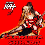 "SENORITA SHRED!! From The Great Kat's SARASATE'S ""CARMEN FANTASY"" MUSIC VIDEO!"