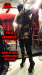 "VIOLIN DOMINATRIX! BEHIND the SCENES at CARMEN FANTASY VIDEO SHOOT!  From The Great Kat's SARASATE'S ""CARMEN FANTASY"" MUSIC VIDEO!"