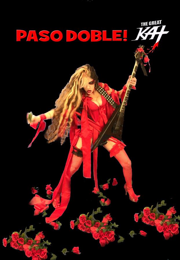 "PASO DOBLE! From The Great Kat's SARASATE'S ""CARMEN FANTASY"" MUSIC VIDEO!"