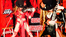 "The Great Kat's SARASATE'S ""CARMEN FANTASY"" MUSIC VIDEO!"