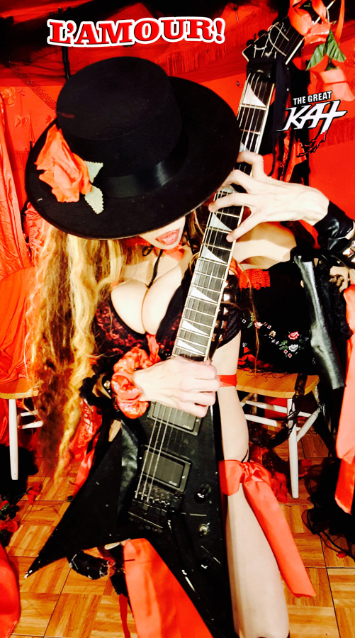 """L'AMOUR! From The Great Kat's SARASATE'S """"CARMEN FANTASY"""" MUSIC VIDEO!"""