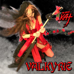 "VALKYRIE! From The Great Kat's SARASATE'S ""CARMEN FANTASY"" MUSIC VIDEO!"