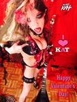 "I LOVE KAT HAPPY VALENTINE'S DAY The Great Kat SHREDS SARASATE'S ""CARMEN FANTASY"""