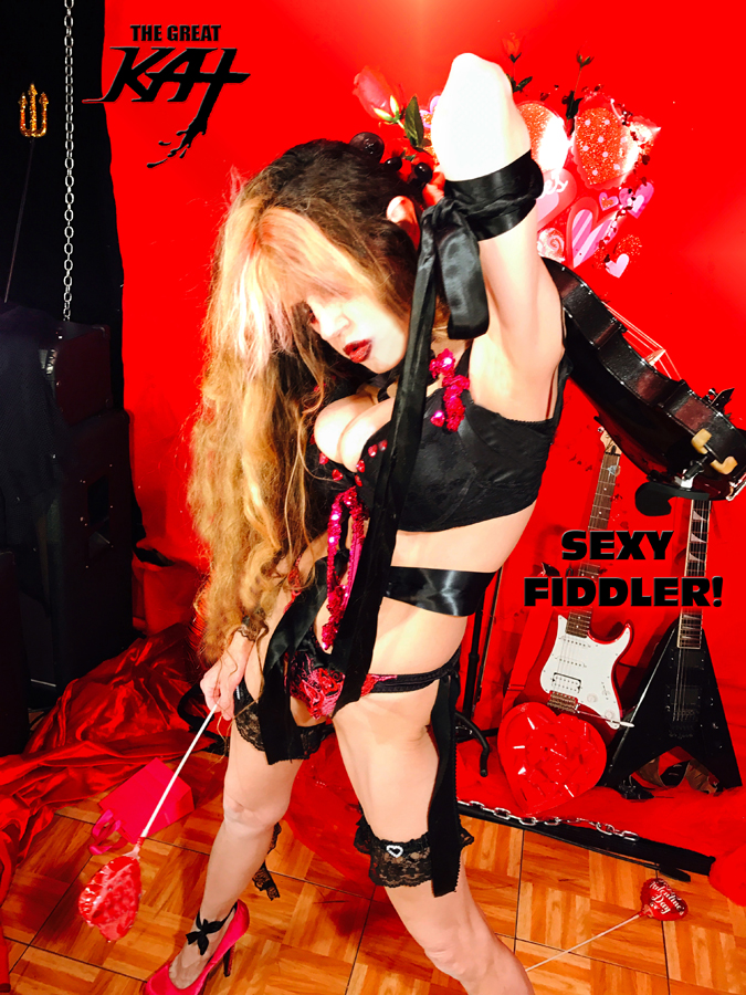 """SEXY FIDDLER! THE GREAT KAT SHREDS SARASATE'S """"CARMEN FANTASY""""!  THE GREAT KAT SHREDS SARASATE'S """"CARMEN FANTASY"""""""