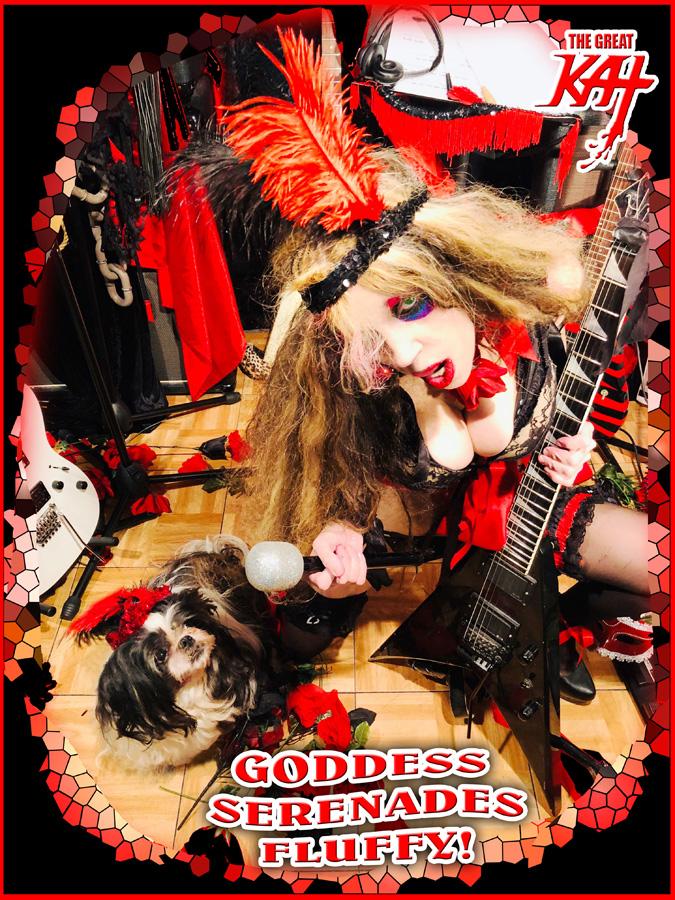 GODDESS SERENADES FLUFFY NEW GREAT KAT CD PHOTO!