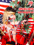 """CHOPPING DOWN the CHERRY TREE! HAPPY PRESIDENTS' DAY! THE GREAT KAT SHREDS SARASATE'S """"CARMEN FANTASY""""!  THE GREAT KAT SHREDS SARASATE'S """"CARMEN FANTASY"""""""