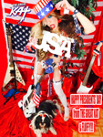 "HAPPY PRESIDENTS' DAY from THE GREAT KAT & FLUFFY!!! THE GREAT KAT SHREDS SARASATE'S ""CARMEN FANTASY""!  THE GREAT KAT SHREDS SARASATE'S ""CARMEN FANTASY"""