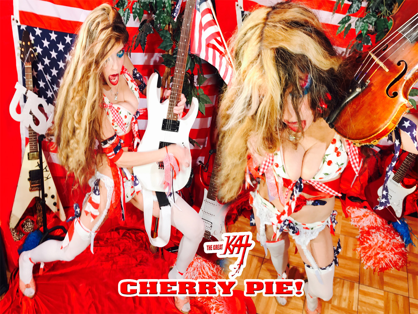 "CHERRY PIE! THE GREAT KAT SHREDS SARASATE'S ""CARMEN FANTASY""!"
