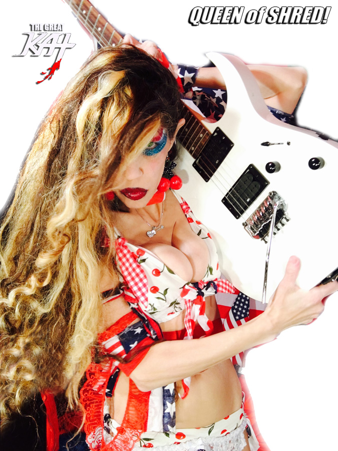 """QUEEN of SHRED!! THE GREAT KAT SHREDS SARASATE'S """"CARMEN FANTASY""""!"""