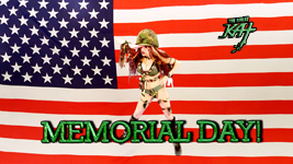 """THE GREAT KAT'S """"TOP 20 HOT SHRED HOLIDAYS!"""" """"MEMORIAL DAY"""" From The Great Kat's NEW DVD!!!!"""