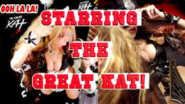 """THE GREAT KAT'S """"TOP 20 HOT SHRED HOLIDAYS! STARRING THE GREAT KAT"""" From The Great Kat's NEW DVD!!!!"""