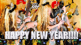 """THE GREAT KAT'S """"TOP 20 HOT SHRED HOLIDAYS!"""" HAPPY NEW YEAR!!!!"""" From The Great Kat's NEW DVD!!!!"""