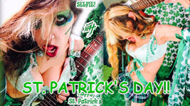 """THE GREAT KAT'S """"TOP 20 HOT SHRED HOLIDAYS!"""" """"ST. PATRICK'S DAY!"""" From The Great Kat's NEW DVD!!!!"""