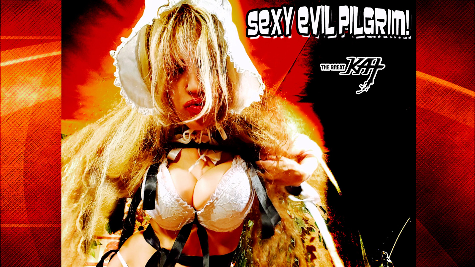 "THE GREAT KAT'S ""TOP 20 HOT SHRED HOLIDAYS!"" ""SEXY EVIL PILGRIM!"" From The Great Kat's NEW DVD!!!!"
