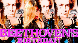 """THE GREAT KAT'S """"TOP 20 HOT SHRED HOLIDAYS!"""" """"BEETHOVEN'S BIRTHDAY!"""" From The Great Kat's NEW DVD!!!!"""