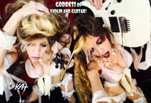 "GODDESS of VIOLIN AND GUITAR! The Great Kat SHREDS SARASATE'S ""CARMEN FANTASY"""