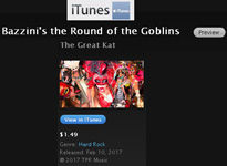 "iTUNES VIDEOS & APPLE MUSIC PREMIERE THE GREAT KAT'S NEW MARDI GRAS MUSIC VIDEO: BAZZINI'S ""THE ROUND OF THE GOBLINS""! LET THE GOOD TIMES ROLL!!  Starring The Great Kat & MARDI GRAS & Hot CARNIVAL Madness! GREAT KAT'S High-Speed Blistering CLASSICAL VIOLIN (Juilliard grad Carnegie Recital Hall Soloist) & SHRED GUITAR (""Top 10 Fastest Shredders Of All Time""!) FAT TUESDAY Debauchery!  Bead-Throwing, Kat Krewe, King Cakes, Masks, All-Male Mardi Gras Band & More! From Upcoming DVD!"