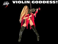 THE GREAT KAT GUITAR/VIOLIN GODDESS & REINCARNATION of BEETHOVEN!