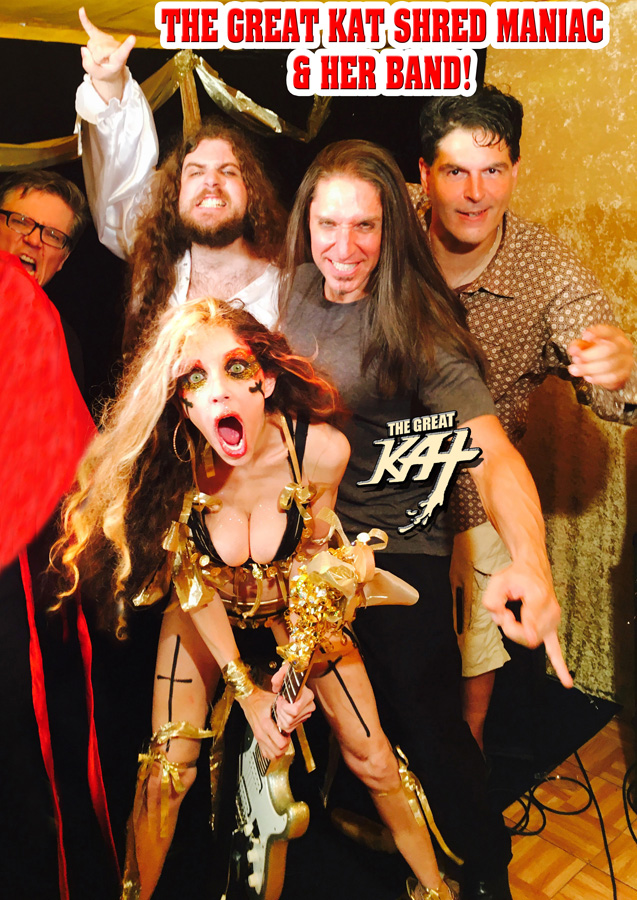 THE GREAT KAT SHRED MANIAC & HER BAND! Sneak Peek from NEW DVD!