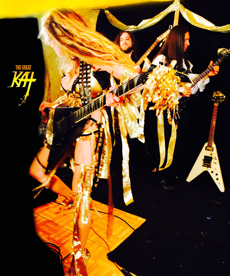 """IN BETWEEN TAKES with The Great Kat & her BAND on LISZT'S """"HUNGARIAN RHAPSODY #2"""" MUSIC VIDEO FILMING!"""